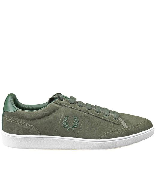 Fred Perry - Green Men's Sneakers for Men - Lyst