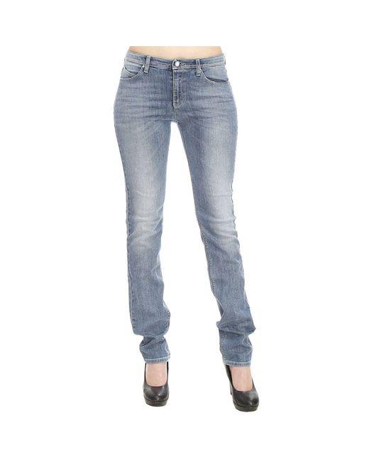 Armani Jeans | Blue Giorgio Armani Women's Jeans | Lyst