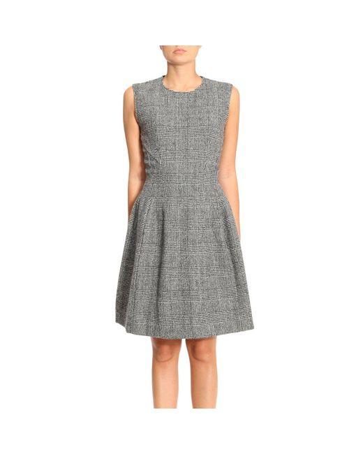 Ermanno Scervino | Gray Dress Women | Lyst