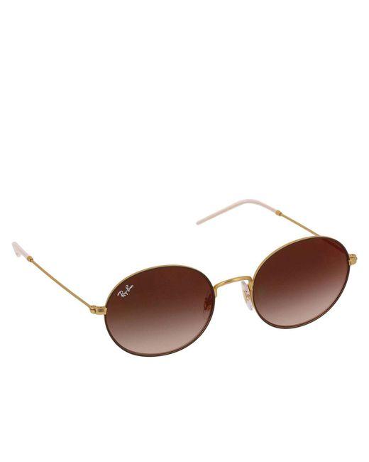 Ray-Ban - Brown Sunglasses Women - Lyst