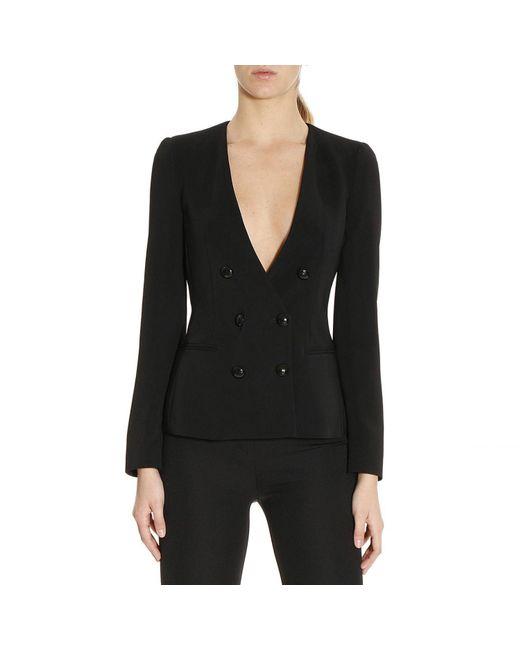 Emporio Armani | Black Blazer Women | Lyst