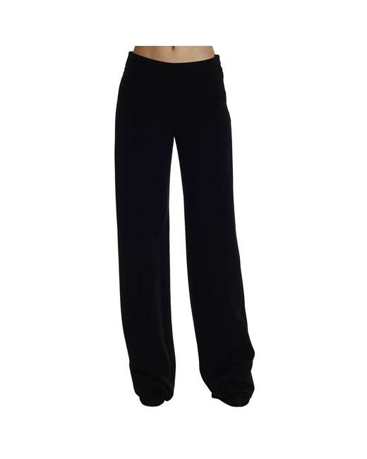 Giorgio Armani | Black Women's Trouser | Lyst