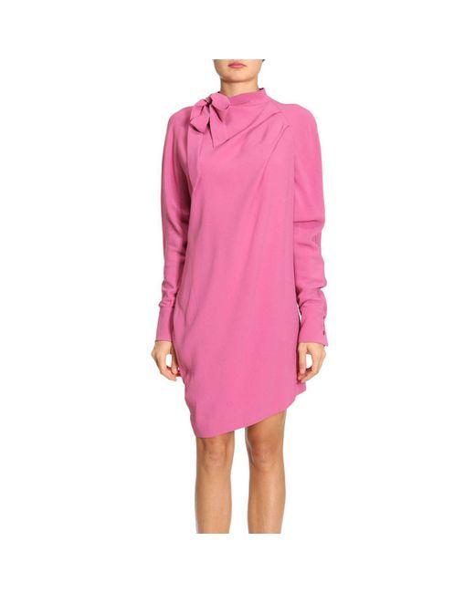 Pinko | Pink Dress Women | Lyst