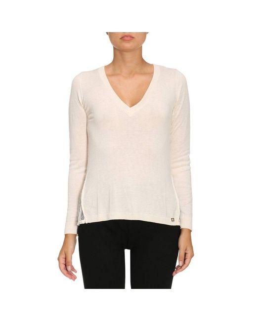 Twin Set | White Sweater Women | Lyst