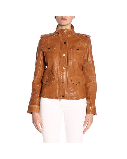 MICHAEL Michael Kors - Brown Jacket Women - Lyst