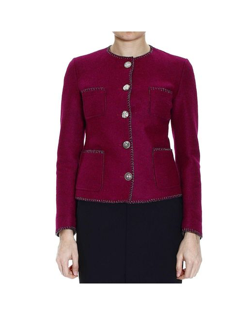 De'Hart | Purple Women's Blazer | Lyst