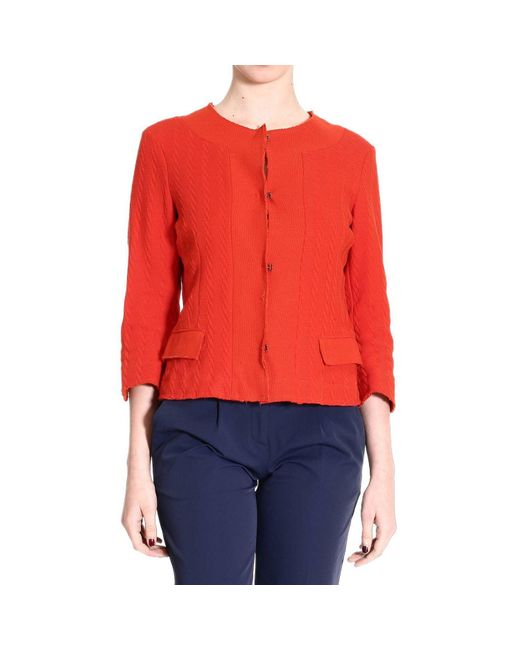 De'Hart | Red Women's Blazer | Lyst