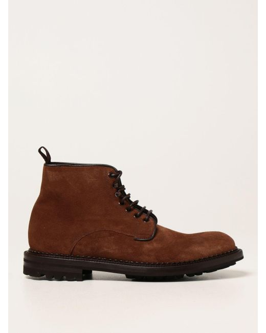 Green George Brown Chukka Boots for men