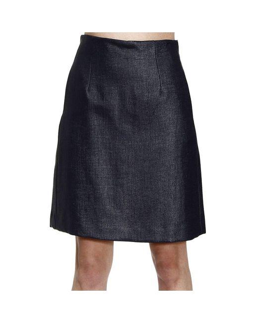 Emporio Armani | Blue Giorgio Armani Women's Skirts | Lyst