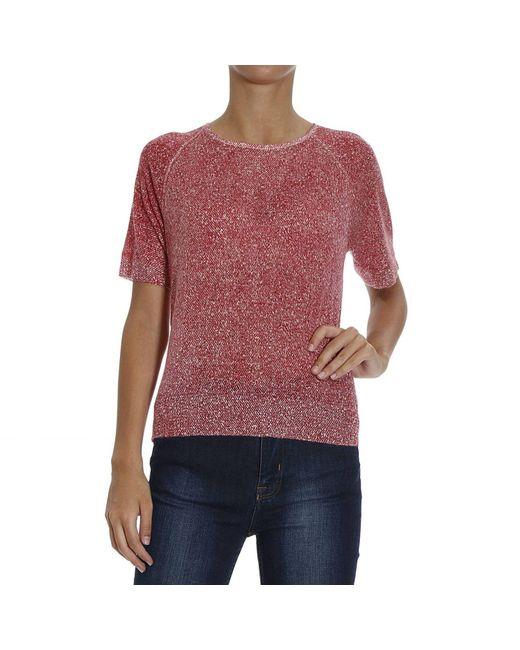 Emporio Armani | Red Giorgio Armani Women's Sweater | Lyst