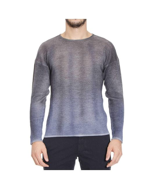 Emporio Armani | Blue Giorgio Armani Men's Sweater for Men | Lyst