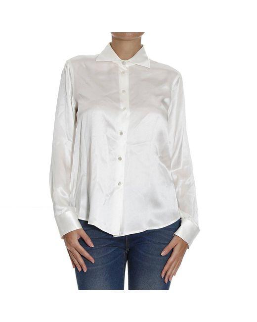 Giorgio Armani | White Women's Shirt | Lyst