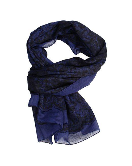 Valentino | Blue Women's Foulard | Lyst