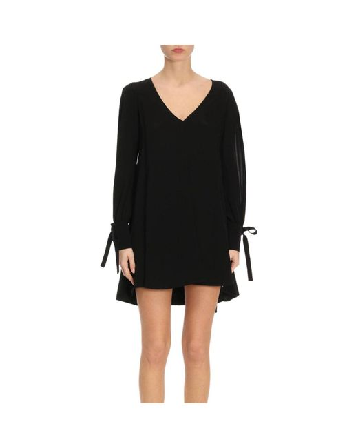Patrizia Pepe - Black Dress Women - Lyst