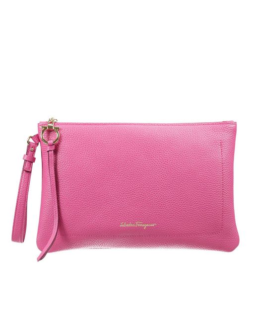 Ferragamo | Pink Women's Handbag | Lyst