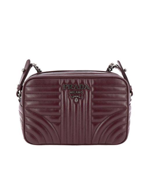 78f9b50739fb ... greece prada multicolor mini bag shoulder bag women lyst 3abeb bd2cc
