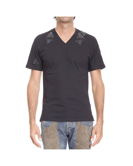 Emporio Armani T Shirt Man In Black For Men Lyst