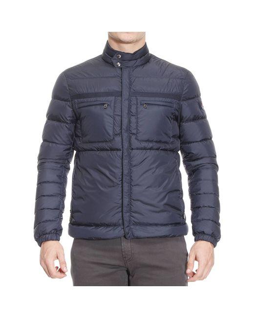 Peuterey | Blue Jackets Man for Men | Lyst