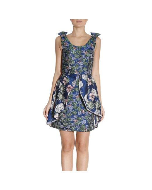 Pinko | Blue Dress Women | Lyst
