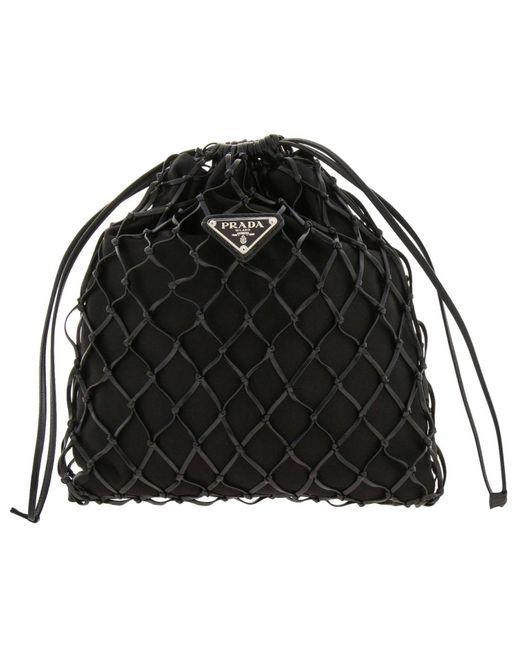 f0f9c8f9e0 Prada - Black Mini Bag Shoulder Bag Women - Lyst ...