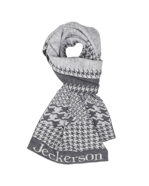 Jeckerson | Gray Scarf Men for Men | Lyst