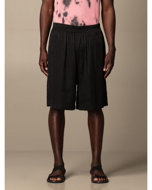 Laneus Black Short for men