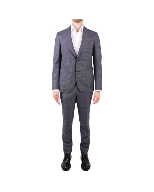 Tagliatore - Blue Suit Men for Men - Lyst