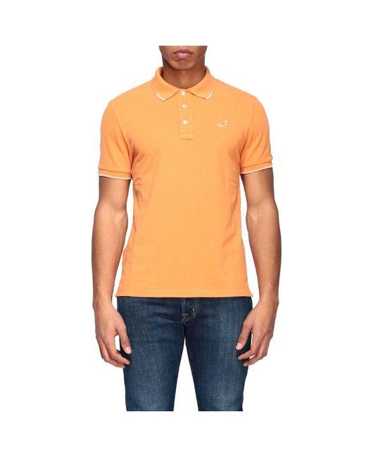 Jacob Cohen Orange T-shirt for men