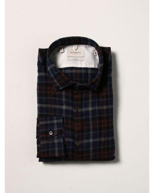 Brooksfield Black Shirt for men
