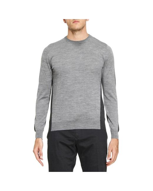 Paolo Pecora | Gray Sweater Men for Men | Lyst