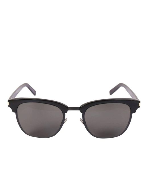aadc893bec Saint Laurent - Black Glasses Men for Men - Lyst ...