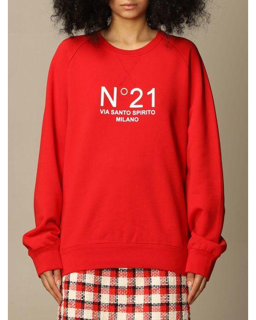 N°21 Red Sweatshirt