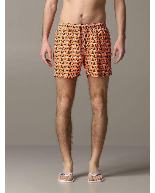 Mc2 Saint Barth Multicolor Swimsuit for men