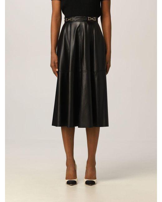 Elisabetta Franchi Black Skirt