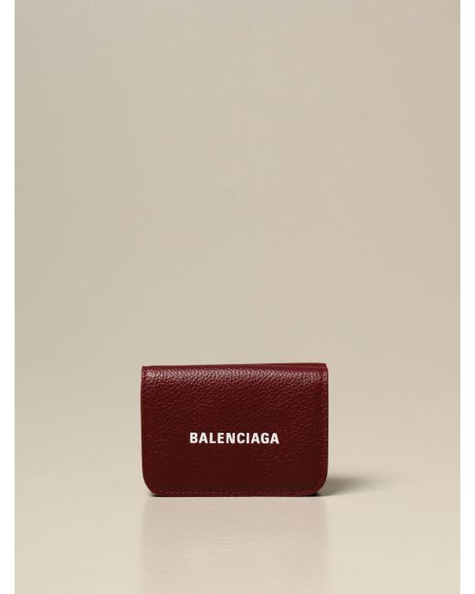 Balenciaga Red Wallet