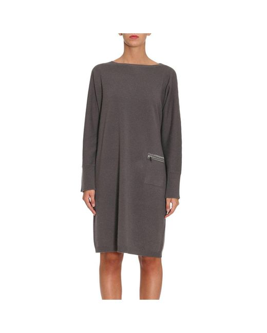 Fabiana Filippi | Gray Dress Women | Lyst