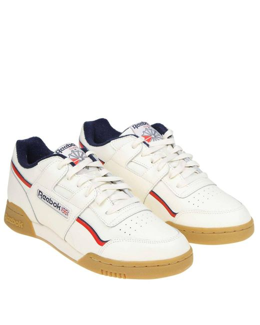 d12bafe476d Lyst - Reebok Sneakers Men in White for Men