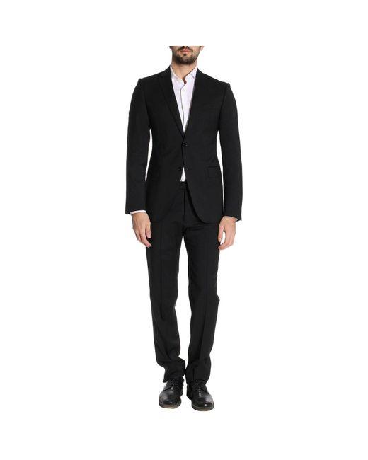 Emporio Armani | Black Suit Men for Men | Lyst
