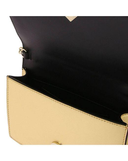 0519556b97 ... Emporio Armani - Metallic Mini Bag Shoulder Bag Women - Lyst ...