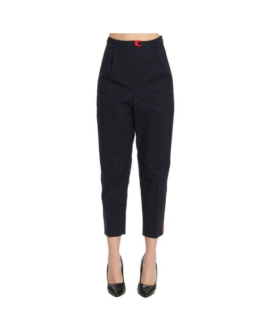Pinko - Blue Pants Women - Lyst
