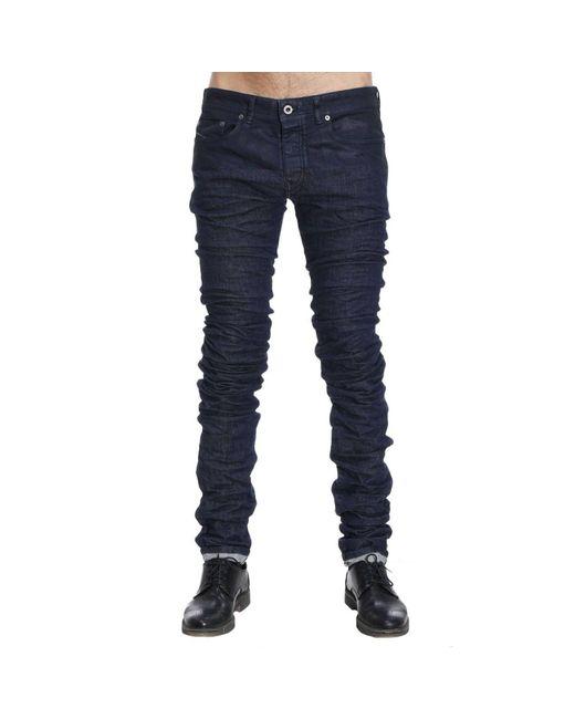 Extra long skinny leg jeans