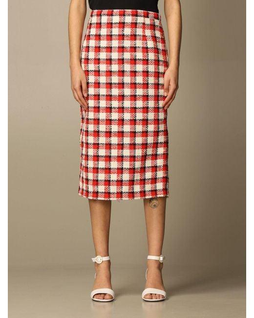 N°21 Red Skirt