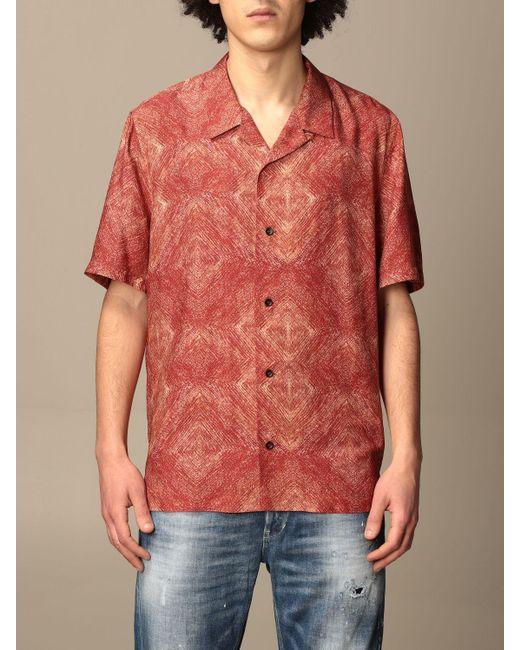 Dondup Multicolor Shirt for men