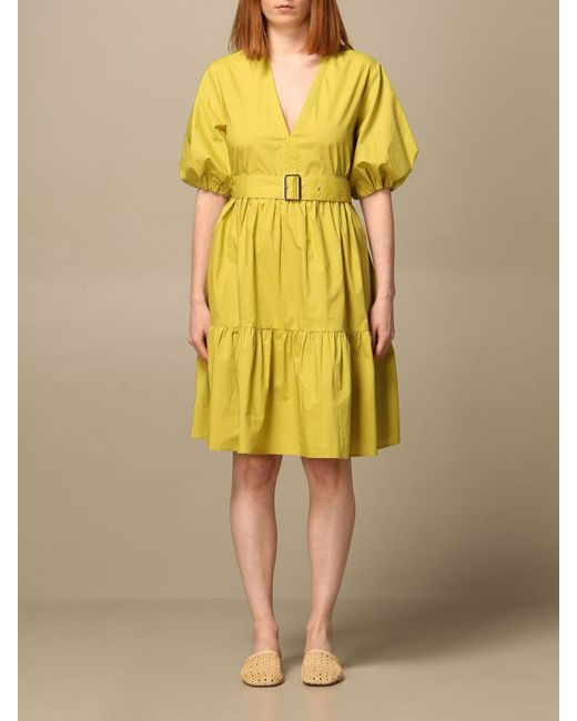 Pinko Yellow Dress