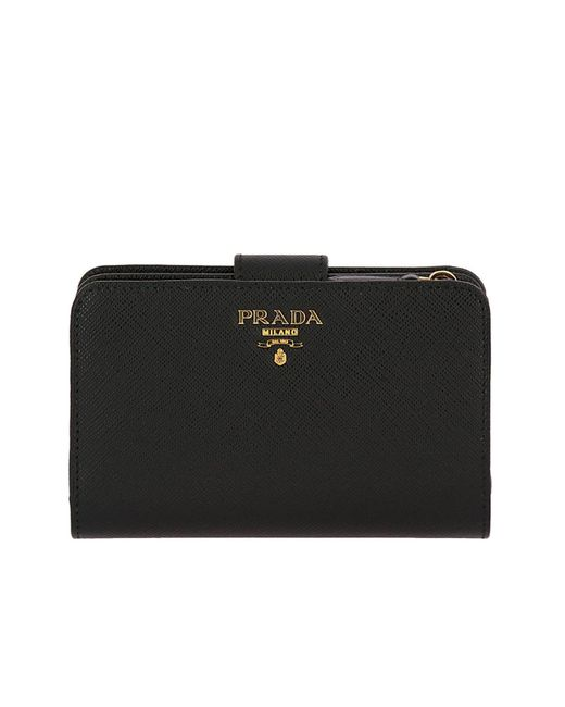 a06b486a237a netherlands prada wallet wallet women prada red 82b00 bc6e2; coupon code  for prada black wallet women lyst ec4df 6ca37