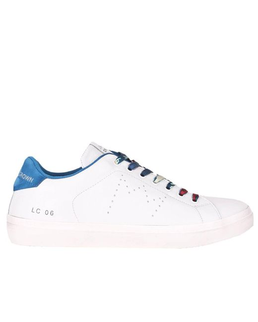 Leather Crown - White Sneakers Men for Men - Lyst