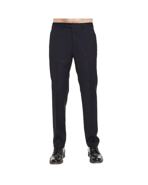 Armani | Blue Pants Men for Men | Lyst