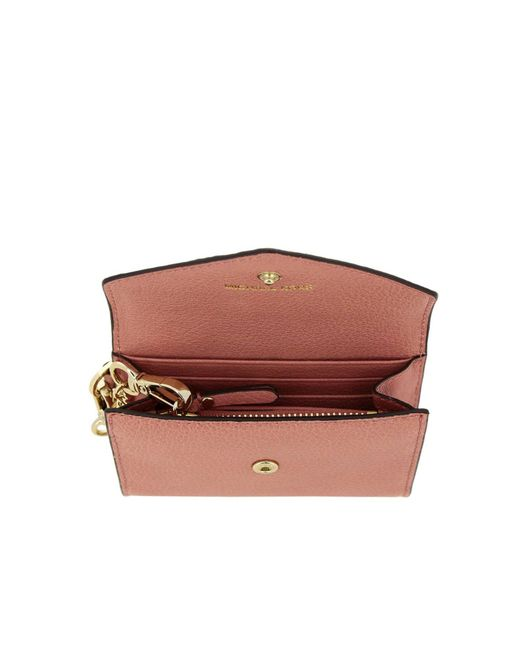72b4908442eb ... MICHAEL Michael Kors - Pink Wallet Women - Lyst ...