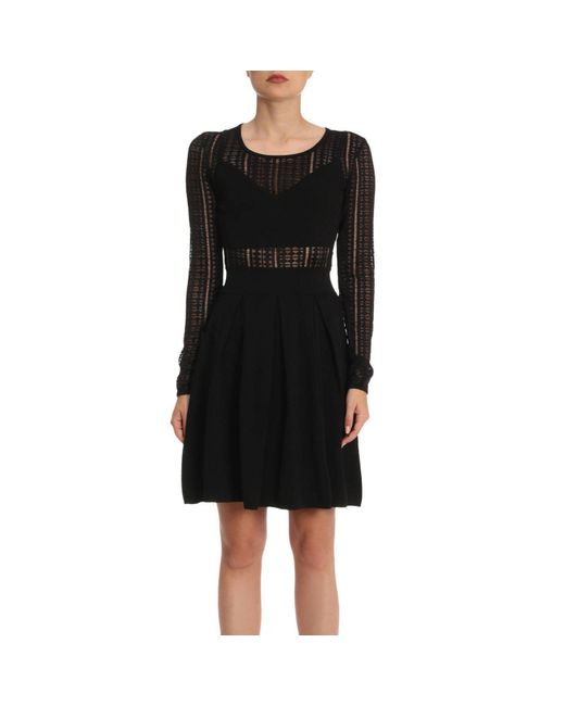Patrizia Pepe - Black Dress Women - Lyst