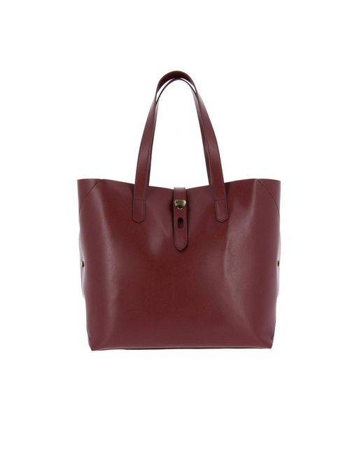 Hogan - Red Shoulder Bag Women - Lyst ... 6a6d987507142
